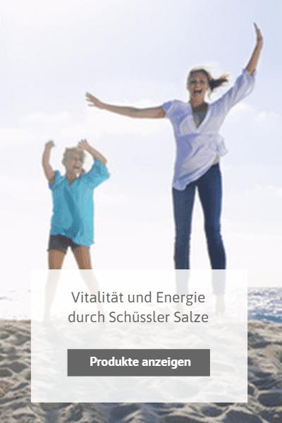 Schüssler Salz Vitalität, Energie