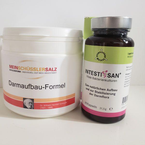 """""""Mein Schüssler-Salz""""- ( Teil 2 ) DarmAUFBAU-Formel 400g mit Intestisan von Spenglersan"""